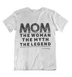 Womens t shirts Mom the legend - oldprophet.com