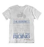 Womens t shirts Just go riding - oldprophet.com