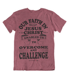 Womens t shirts Our faith in JESUS CHRIST - oldprophet.com