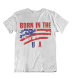 Mens t shirt Born in the U.S.A. - oldprophet.com