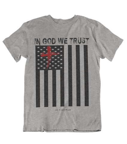 Womens t shirts In GOD we trust - oldprophet.com