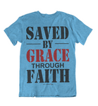 Womens t shirts Saved by grace - oldprophet.com