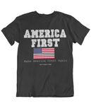 Mens t shirt America First - oldprophet.com
