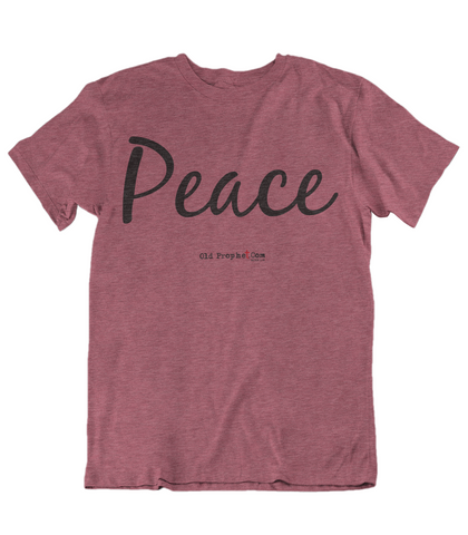 Womens t shirts Peace - oldprophet.com
