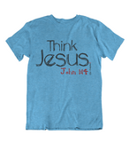 Womens t shirts Think JESUS - oldprophet.com