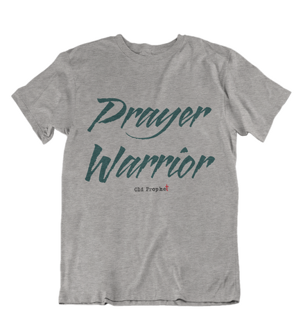Womens t shirts Prayer warrior - oldprophet.com
