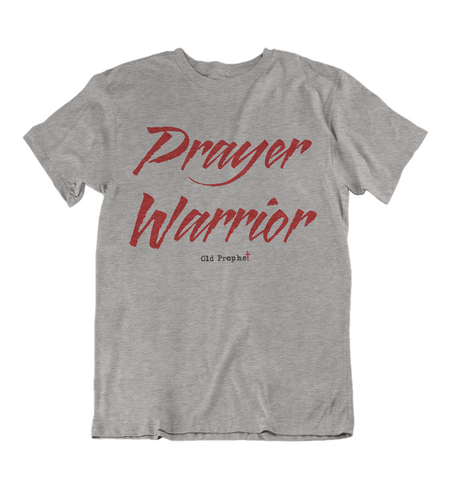 Mens t shirts Prayer warrior - oldprophet.com