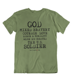 Mens t shirts  When GOD created the U.S. soldier - oldprophet.com