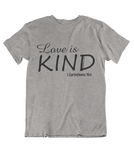 Mens t shirts Love is kind - oldprophet.com