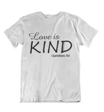 Womens t shirts Love is kind - oldprophet.com