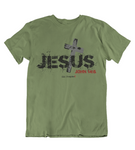 Mens t shirts JESUS Cross - oldprophet.com