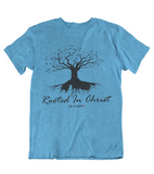 Womens t shirts Rooted in CHRIST - oldprophet.com
