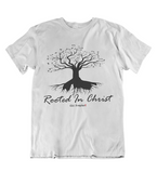Mens t shirts Rooted in CHRIST - oldprophet.com