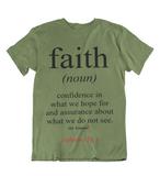 Mens t shirts Faith - oldprophet.com