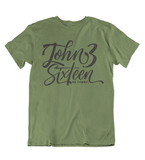 Mens t shirts John Three Sixteen - oldprophet.com