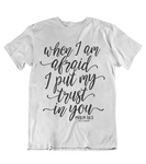Womens t shirts I put my trust in you - oldprophet.com