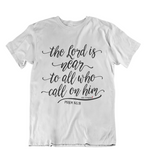 Womens t shirts The LORD is near - oldprophet.com