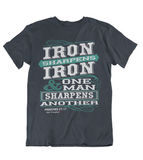 Mens t shirts Iron sharpens Iron - oldprophet.com