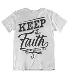 Womens t shirts Keep the faith - oldprophet.com