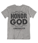 Womens t shirts Honor GOD - oldprophet.com