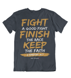 Mens t shirts Fight the good fight - oldprophet.com