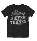 Womens t shirts In everything give thanks - oldprophet.com