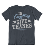 Mens t shirts In everything give thanks - oldprophet.com