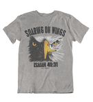 Mens t shirt Soaring On Wings - oldprophet.com