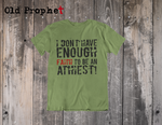 FAITH TO BE AN ATHEIST - oldprophet.com