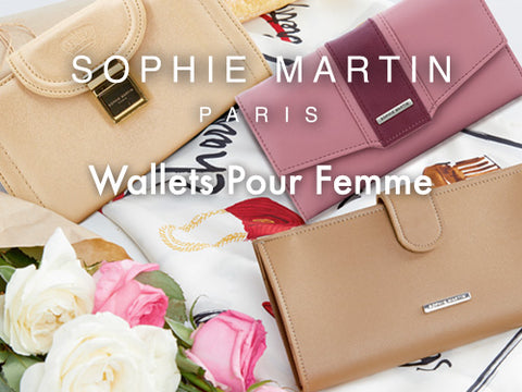SOPHIE MARTIN WHITE Wallets For Her