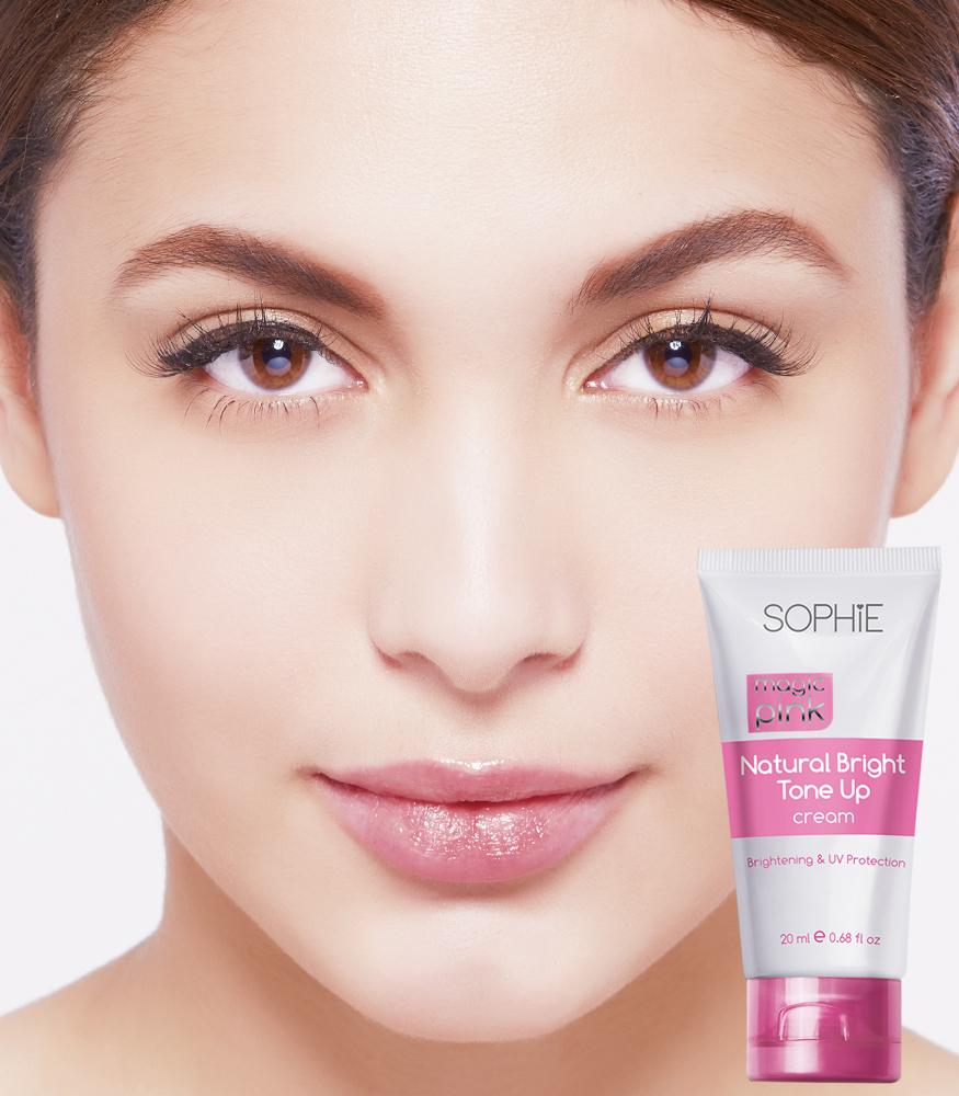 MAGIC PINK NATURAL BRIGHT TONE UP CREAM