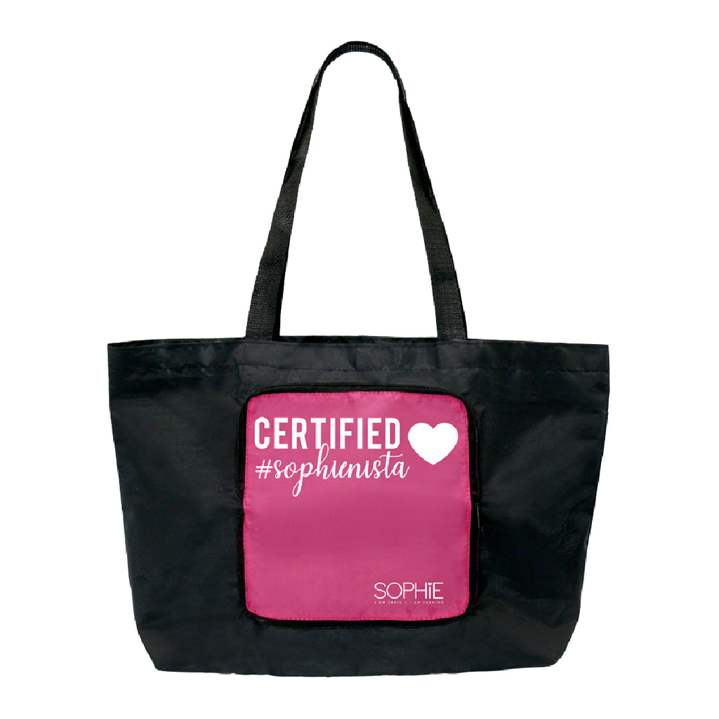 Certified Sophienista Foldable Shopping Bag