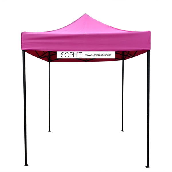SOPHIE PINK TENT 2X2M w/ ACRYLIC SIGNAGE