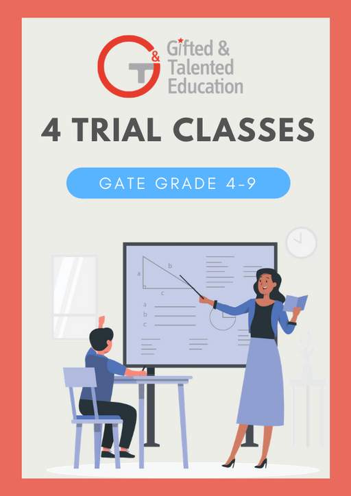 4 Trial Classes (GATE Grade 4-9)