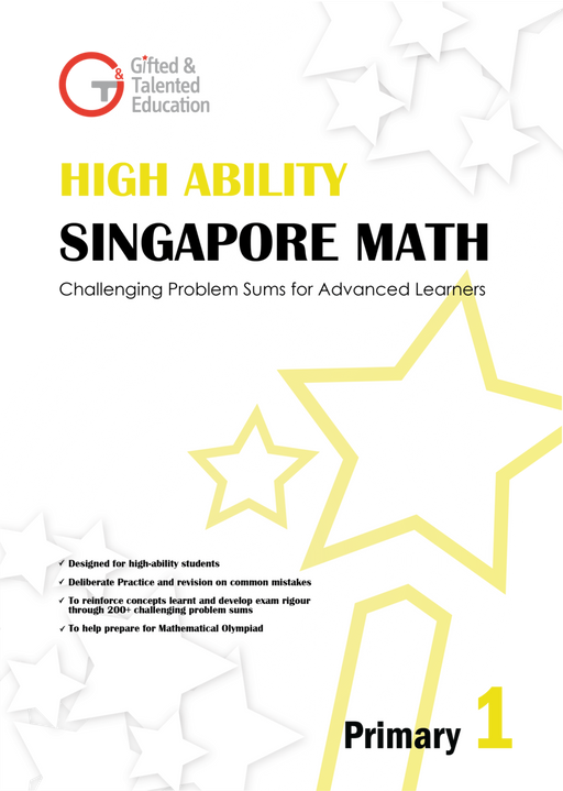 High-Ability Singapore Math Primary 1