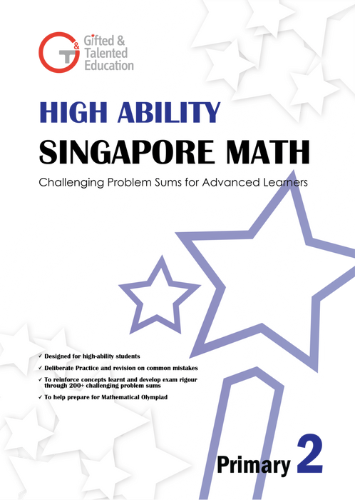 High-Ability Singapore Math Primary 2
