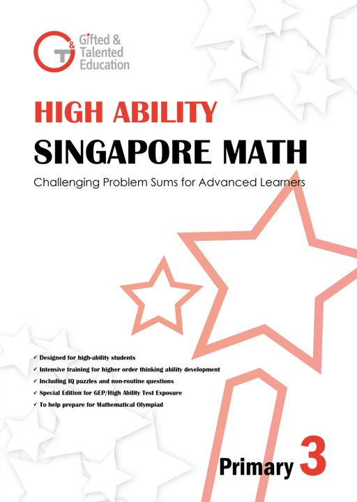 High-Ability Singapore Math Primary 3