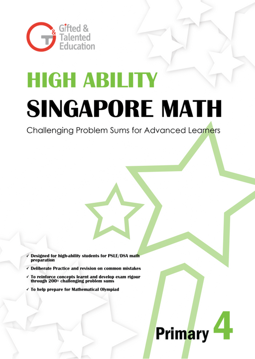 High-Ability Singapore Math Primary 4