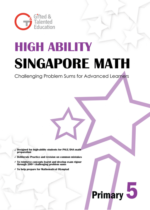 High-Ability Singapore Math Primary 5