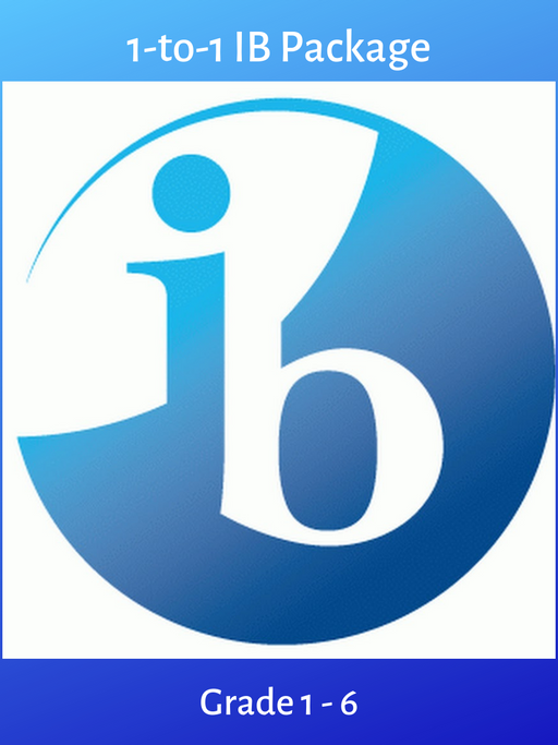 1-to-1 Pre-International Baccalaureate (Grade 1-6)