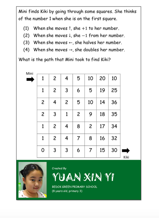 Why Didn't I Think of That? - Math Puzzles developed by gifted students