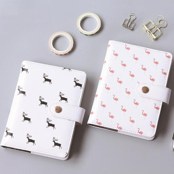 Cute Flamingo and Deer Illustrated Planner