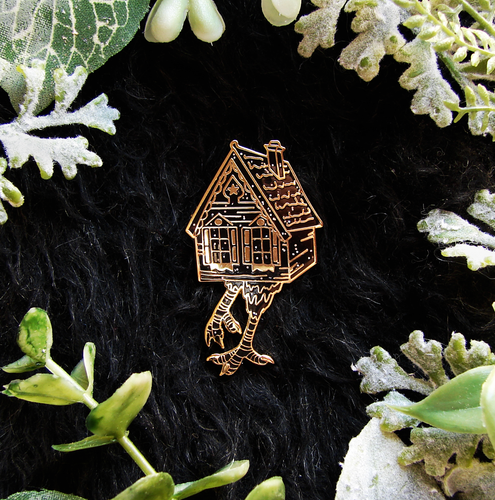 SECONDS Baba Yaga Witch Enamel Pin