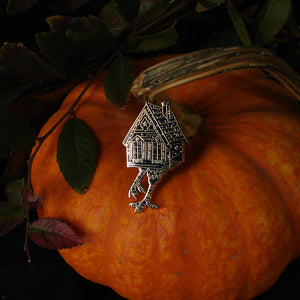 Baba Yaga Witch Enamel Pin