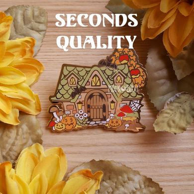 SECONDS Autumn Animal Crossing Enamel Pin