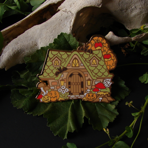 Autumn Animal Crossing Enamel Pin