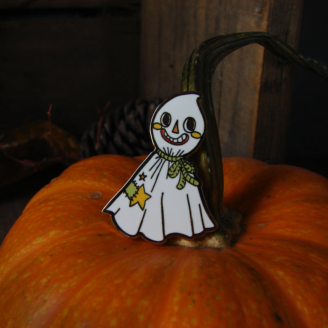 Halloween Ghost Enamel Pin