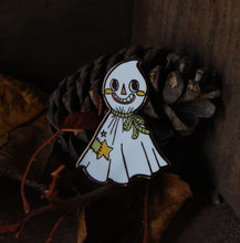 Load image into Gallery viewer, Halloween Ghost Enamel Pin