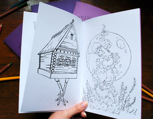 Dark Magic Coloring Book