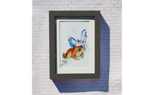 Load image into Gallery viewer, Magical Toad Watercolor Print